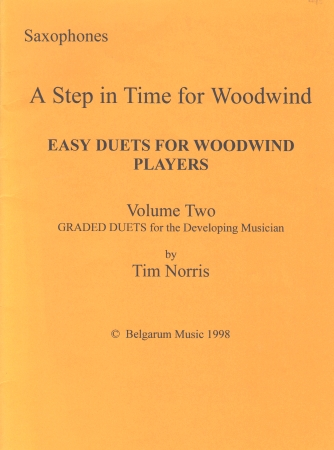 A STEP IN TIME FOR WOODWIND Volume 2