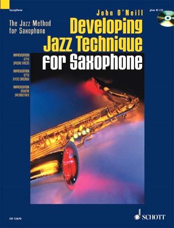 DEVELOPING JAZZ TECHNIQUE + CD (Tenor Sax)
