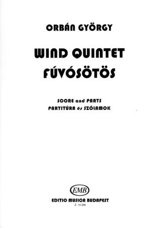 WIND QUINTET (score & parts)