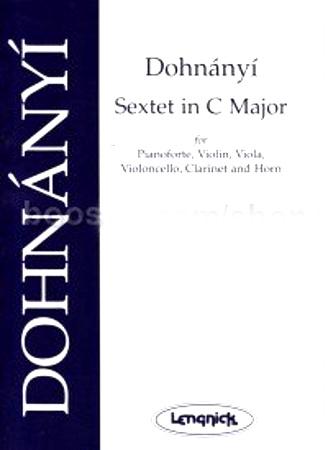 SEXTET in C major Op.37 (score & parts)