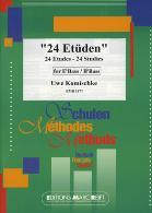 24 ETUDES treble clef
