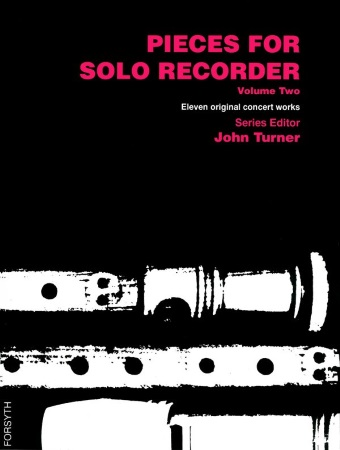 PIECES FOR SOLO RECORDER Volume 2