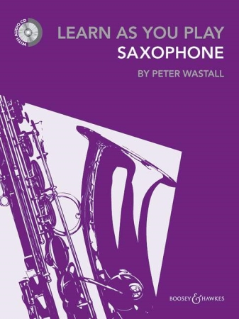 LEARN AS YOU PLAY ALTO SAXOPHONE + CD