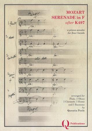 SERENADE in F major after K497 (score)