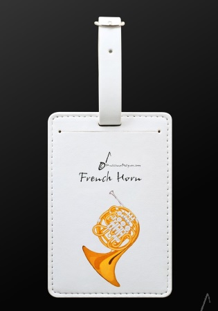 LUGGAGE TAG French Horn