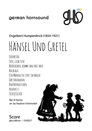HANSEL AND GRETEL (score & parts)