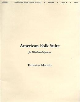 AMERICAN FOLK SUITE (score & parts)