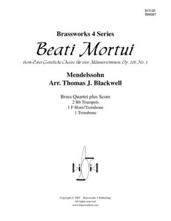 BEATI MORTUI Op.115, No.1