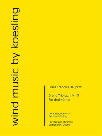 GRAND TRIO Op.4 No.3