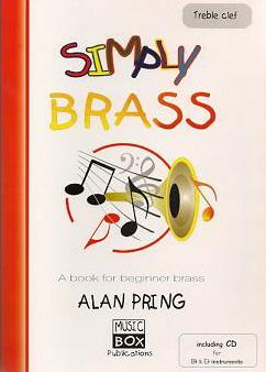 SIMPLY BRASS + CD (treble clef)