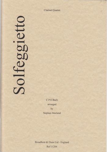 SOLFEGGIETTO (score & parts)