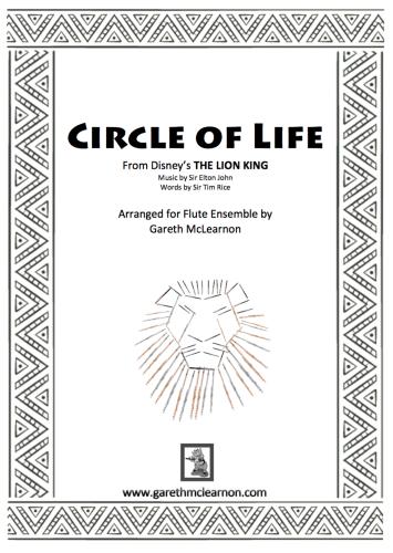CIRCLE OF LIFE (score & parts)