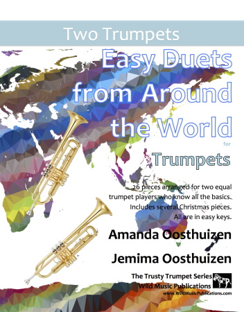 EASY DUETS FROM AROUND THE WORLD for Trumpets