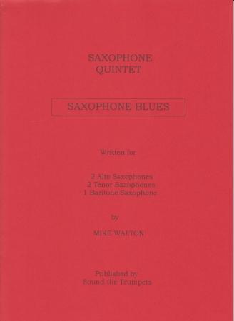 SAXOPHONE BLUES (score & parts)