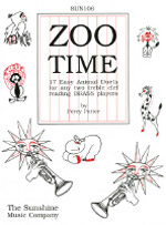 ZOO TIME treble clef brass instruments