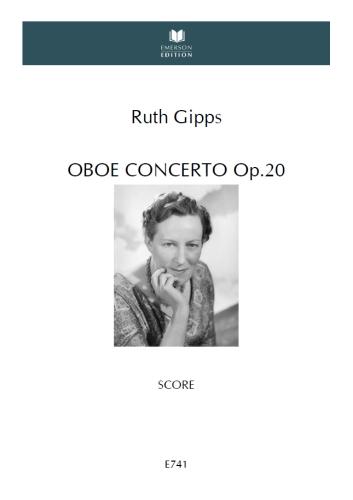 OBOE CONCERTO Op.20 (A4 study score)