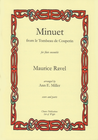MINUET from Le Tombeau de Couperin (score & parts)