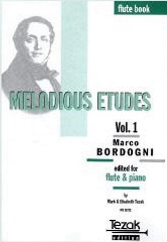 MELODIOUS ETUDES Volume 1 flute part