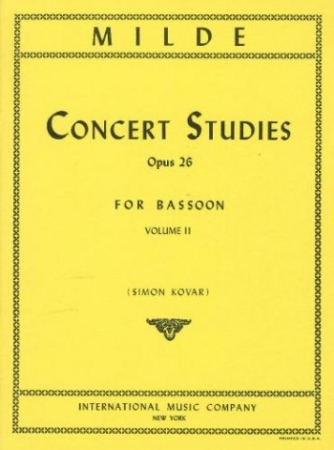50 CONCERT STUDIES Op.26 Volume 2