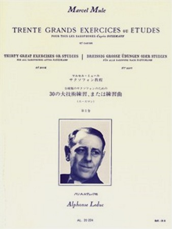 30 GRANDS EXERCISES OU ETUDES Volume 1