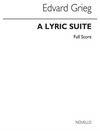 A LYRIC SUITE score