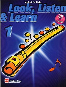 LOOK, LISTEN & LEARN Book 1 + CD
