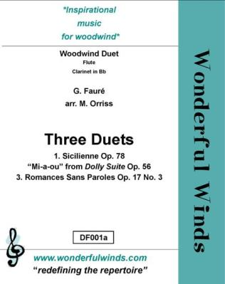THREE DUETS (score and parts)