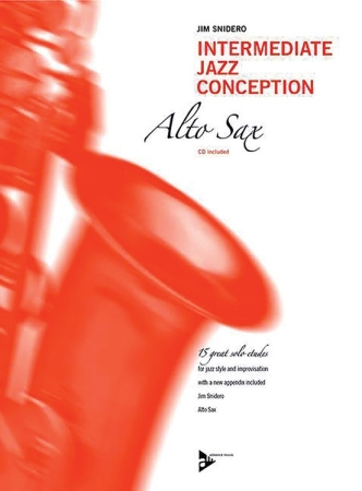 INTERMEDIATE JAZZ CONCEPTION + CD (Eb edition)