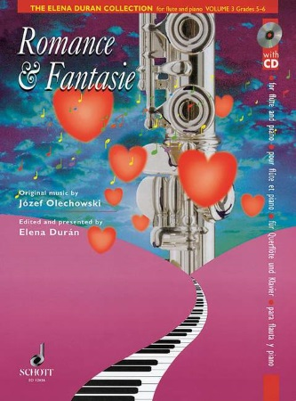ELENA DURAN COLLECTION Volume 3 + CD Romance & Fantasie
