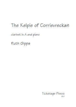 THE KELPIE OF CORRIEVRECKAN Op.5b