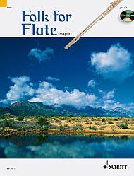 FOLK FOR FLUTE + CD and chord symbols