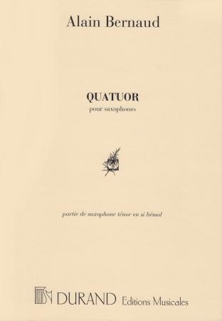 QUATUOR tenor saxophone part
