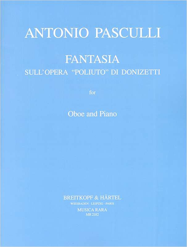 FANTASIA on 'Poliuto' by Donizetti