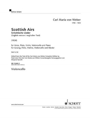 SCOTTISH AIRS cello