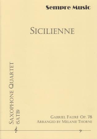 SICILIENNE Op.78 (score & parts)