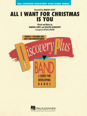 ALL I WANT FOR CHRISTMAS IS YOU (score & parts)