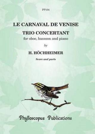 LE CARNAVAL DE VENISE Trio Concertant Op.7