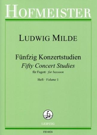 FIFTY CONCERT STUDIES Op.26 Volume 1