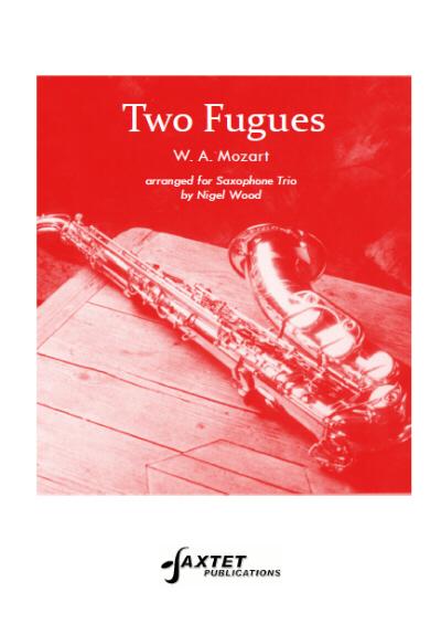 TWO FUGUES (score & parts)