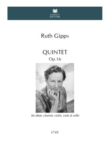 QUINTET Op.16 (score & parts)