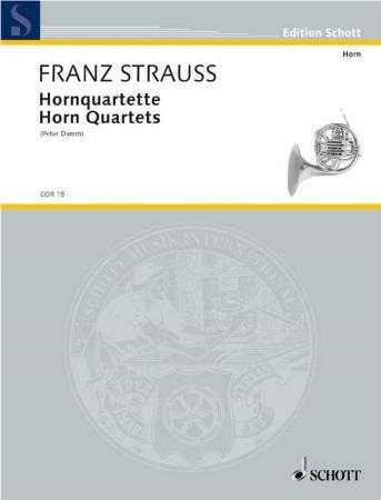 HORN QUARTETS (score & parts)