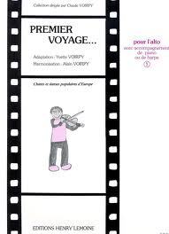 PREMIER VOYAGE Volume 1 popular songs from Europe