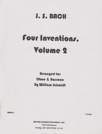 FOUR INVENTIONS Volume 2