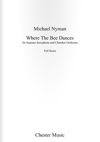 WHERE THE BEE DANCES (full score)
