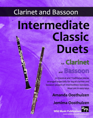 INTERMEDIATE CLASSIC DUETS for Clarinet & Bassoon