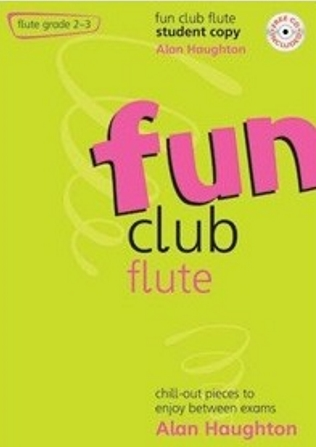 FUN CLUB FLUTE Grade 2-3 Student Copy + CD
