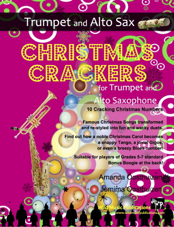 CHRISTMAS CRACKERS for Trumpet & Alto Saxophone