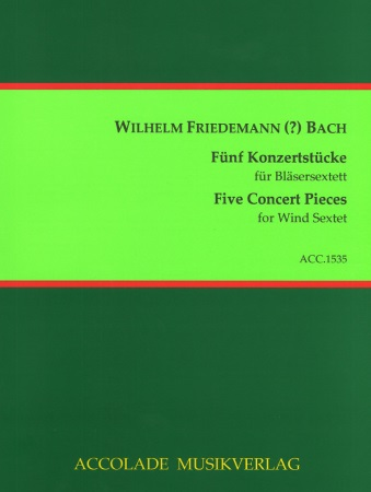 FIVE CONCERT PIECES (score & parts)