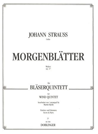 MORGENBLATTER Waltz Op.27