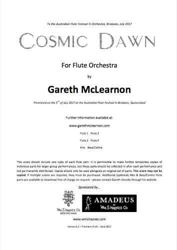 COSMIC DAWN (score & parts)